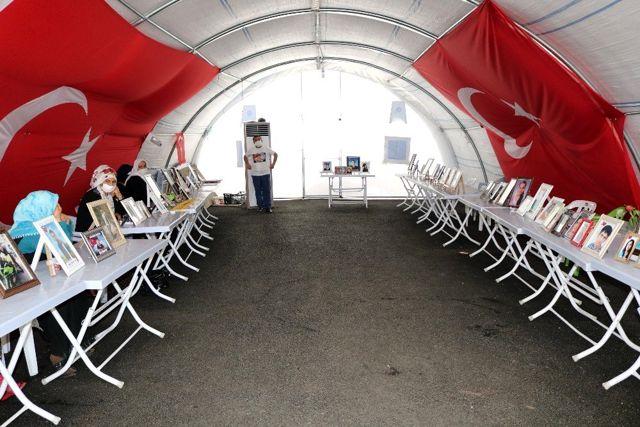 Son dakika haber! HDP önündeki ailelerin evlat nöbeti 347'inci gününde