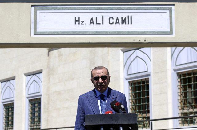 Son Dakika: Cumhurbaşkanı Erdoğan: Kemal Reis, Yunan gemisine gereken cevabı verdi
