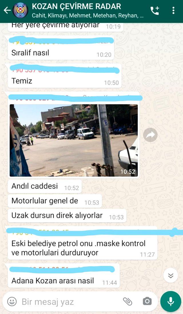 Sürücülerin akılalmaz taktiği! Polis kontrolünden kaçmak için WhatsApp grubu kurdular