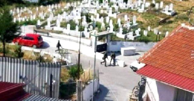 Yunan askerleri, Batı Trakya'daki Türk köyünde silahlı tatbikat yaptı