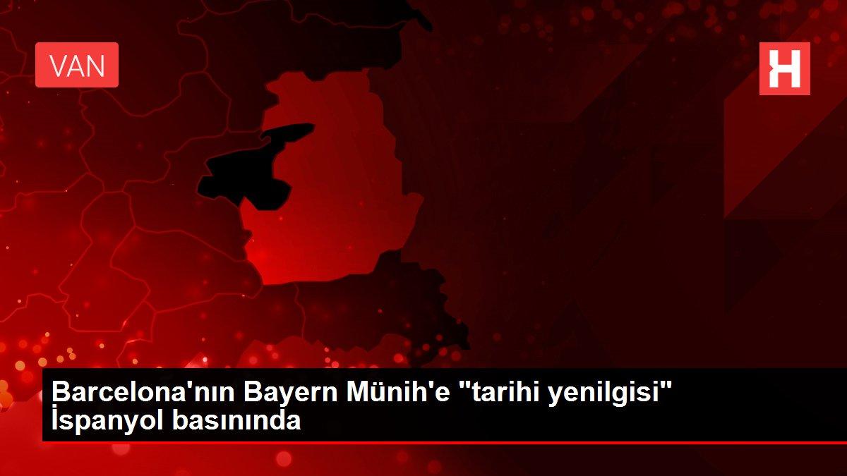 Barcelona'nın Bayern Münih'e