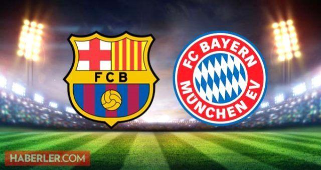 Şampiyonlar Ligi'nde kim yarı finale çıktı? Barcelona - Bayern Munih maç sonucu! Barcelona - Bayern Münih maçı kaç kaç bitti? Şampiyonlar Ligi toplu s
