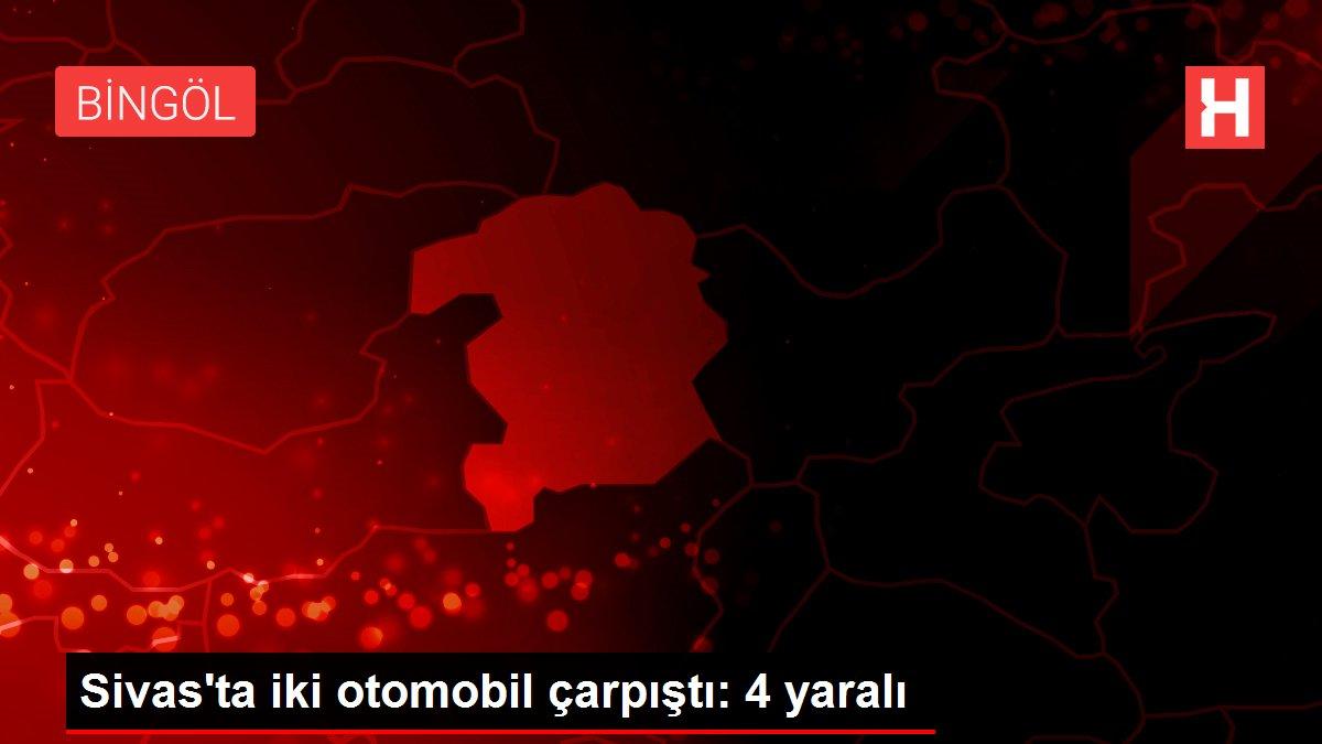 Son dakika haberleri: Sivas'ta iki otomobil çarpıştı: 4 yaralı