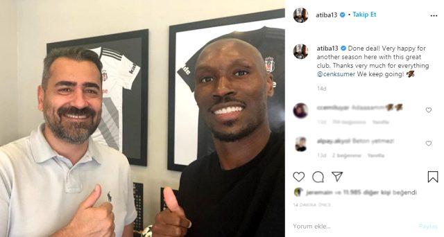 Son Dakika: Kanadalı futbolcu Atiba Hutchinson, Beşiktaş ile sözleşme yeniledi