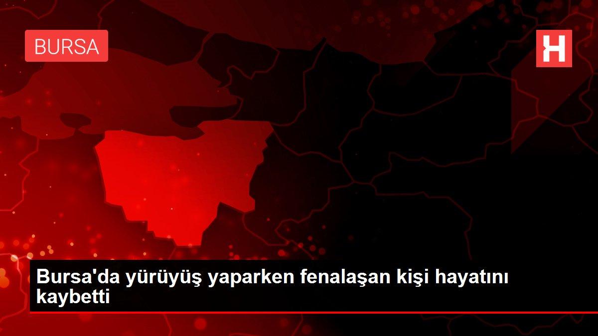 Son dakika haberi | Bursa'da yürüyüş yaparken fenalaşan kişi hayatını kaybetti