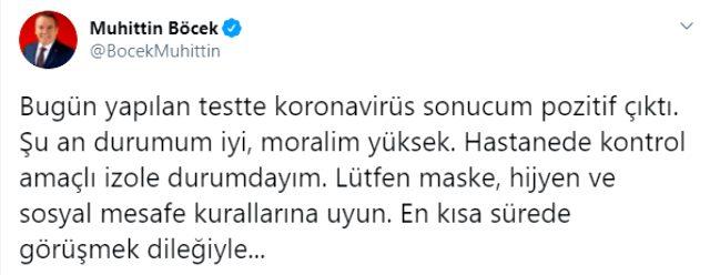 Antalya Büyükşehir Belediye Başkanı koronavirüse yakalandı