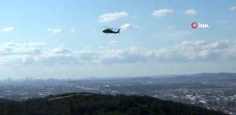Aydos Kalesi: İstanbul İl Emniyet Müdürü Zafer Aktaş, helikopterle ormanları denetledi