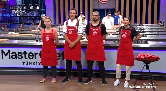 MasterChef Türkiye mavi takım yarışmacıları ve kırmızı takım yarışmacıları kimler oldu?
