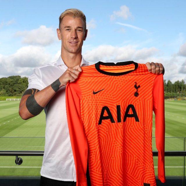 Tottenham Hotspur, Fatih Karagümrük ile anlaştı denilen Joe Hart'ı resmen kadrosuna kattı