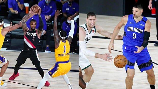 Konferans liderleri Lakers ve Bucks'a play-off dersi!