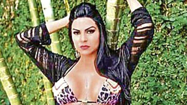 Brezilyalı model, arkadaşıyla tartıştıktan sonra yanlışlıkla kendisini ateşe verdi