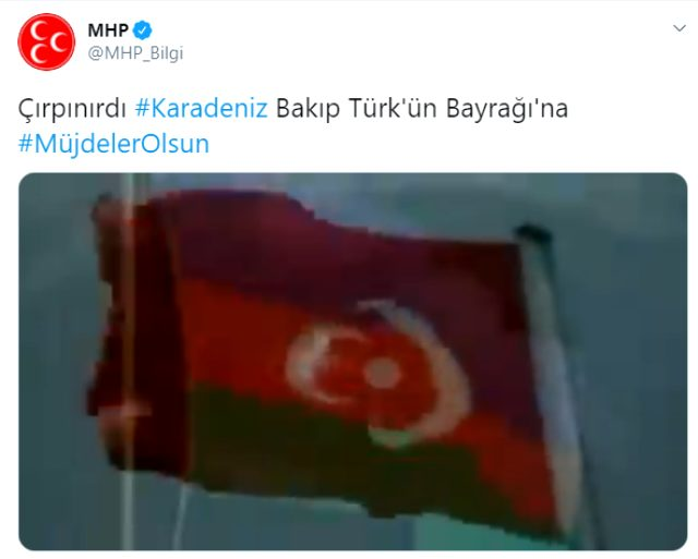 Cumhurbaşkanı Erdoğan'ın açıkladığı 'Karadeniz'de doğal gaz bulduk' müjdesinin ardından MHP'den ilk tepki