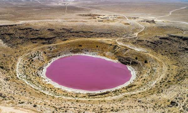 Son dakika haber: Meyil Obruk Gölü, pembeye büründü