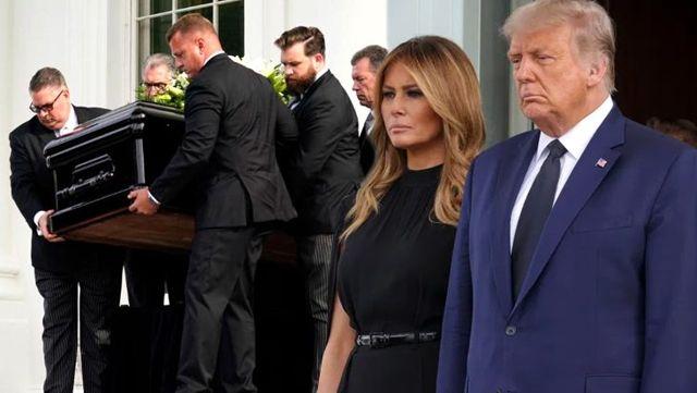 Beyaz Saray'da Kennedy'den sonra bir ilk! 57 yıl sonra Trump'ın kardeşi için cenaze töreni düzenlendi