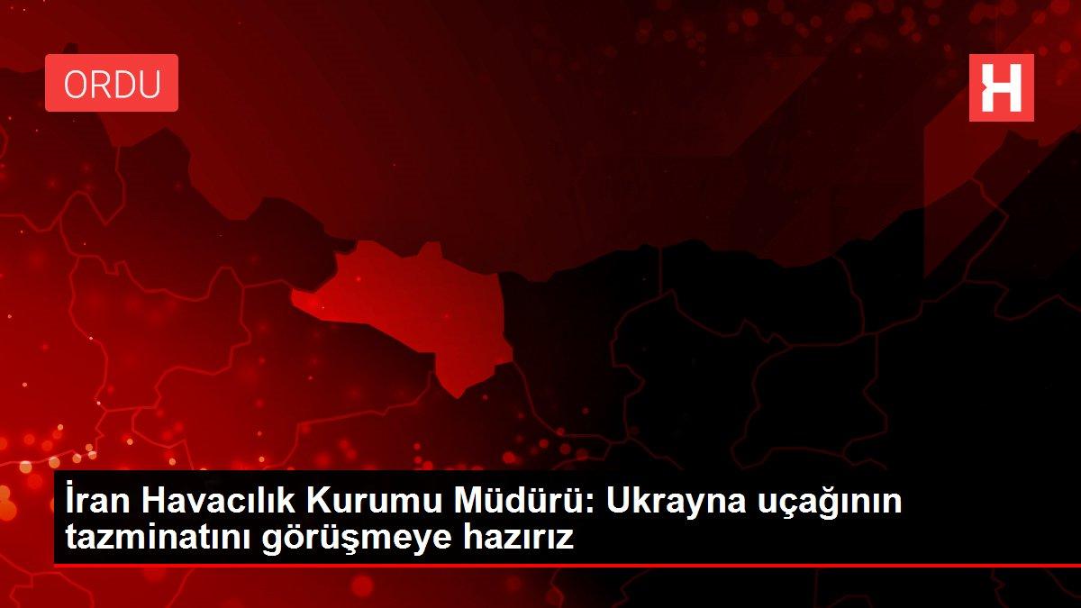 İran Havacılık Kurumu Müdürü: Ukrayna uçağının tazminatını görüşmeye hazırız