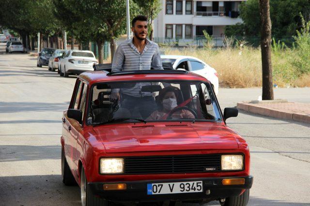 1991 model Serçe'ye 45 bin lira verip aldı, kentteki tek kadın oldu