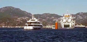 Yacht: Milyon dolarlık yatlar, Marmaris'e kargo gemisiyle geldi