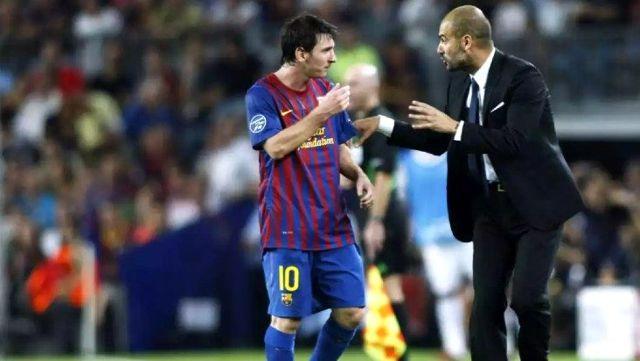 Barcelona'dan ayrılma kararı alan Messi için Guardiola, devreye girdi