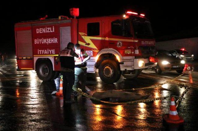 Denizli'de sağanak yağış trafik kazasını beraberinde getirdi: 2 ölü, 3  yaralı - Haber