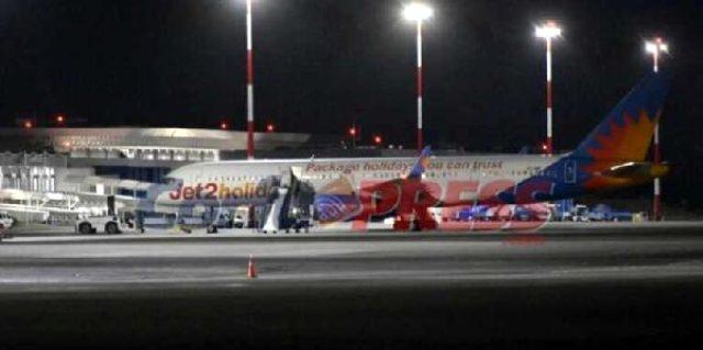 İstanbul-İngiltere seferini yapan yolcu uçağı Yunanistan'a acil iniş yaptı