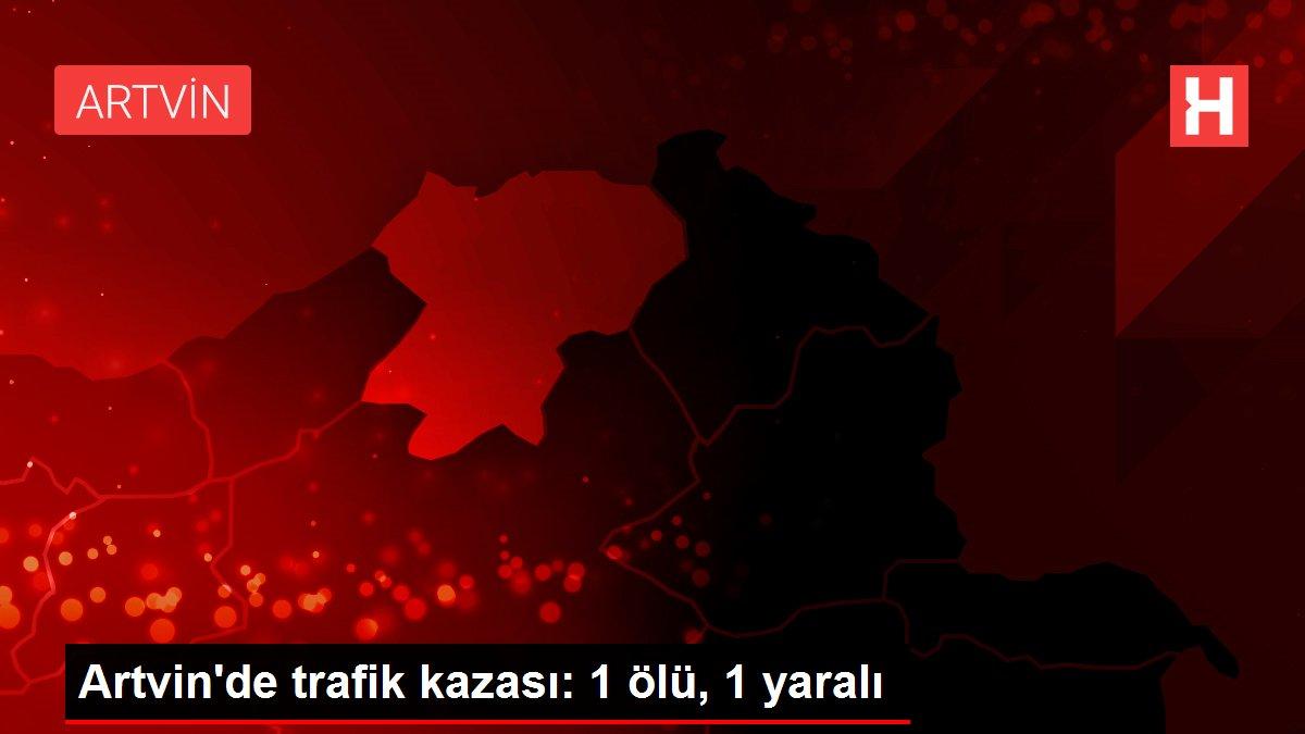 Son dakika haberleri! Artvin'de trafik kazası: 1 ölü, 1 yaralı