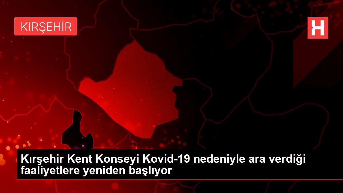 Kırşehir Kent Konseyi Kovid-19 nedeniyle ara verdiği faaliyetlere yeniden başlıyor