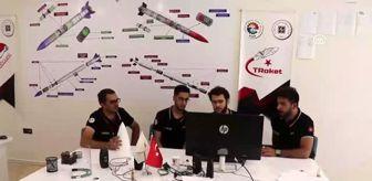 Fırat Üniversitesi: Tasarladıkları roketlerle TEKNOFEST'te yarışacaklar
