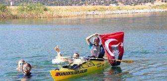Zafer Mutlu: Beyşehir Gölünde 30 Ağustos coşkusu