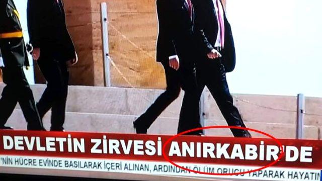 Son Dakika: RTÜK, Akit TV'nin Anıtkabir ile ilgili alt yazısı hakkında inceleme başlattı