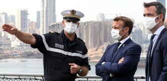 Legion: Beyrut patlaması: Macron'dan Lübnan Yardım Konferansı'na ev sahipliği teklifi