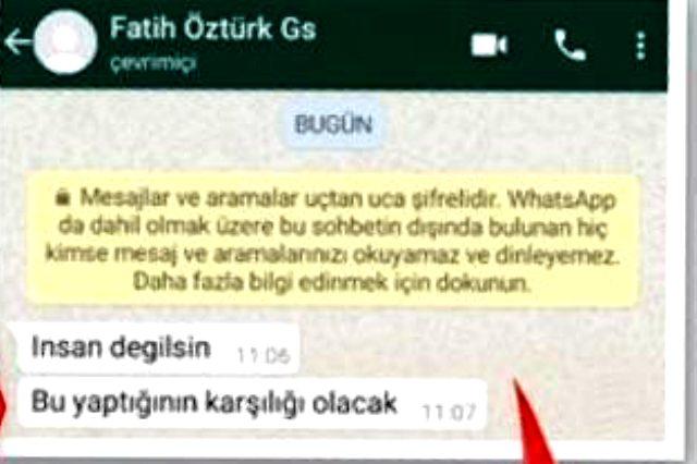 G.Saraylı Fatih Öztürk'ün yakalandığı sarışın kadının, Adana Demirspor kalecisi Kurtuluş Yurt'un eşi olduğu ortaya çıktı