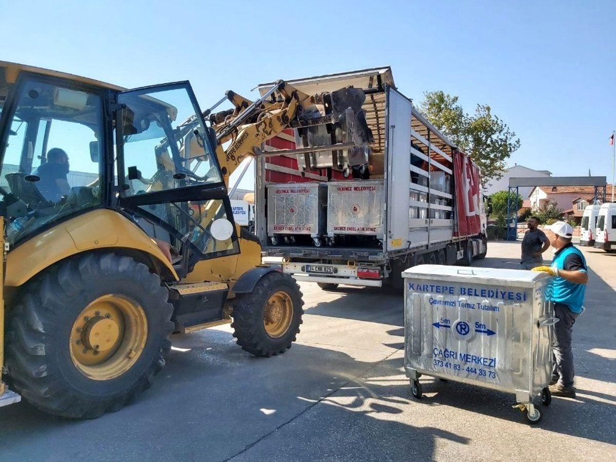 Kocaeli'den sel felaketinin yaşandığı Giresun'a destek