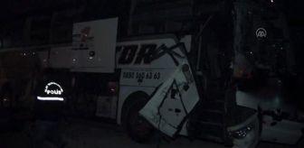 Çetinkaya: Aksaray'da yolcu otobüsü ile kamyon çarpıştı: 4 yaralı