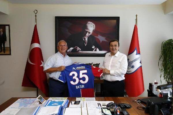 Altınordu'dan Konak Belediyesi'ne ziyaret