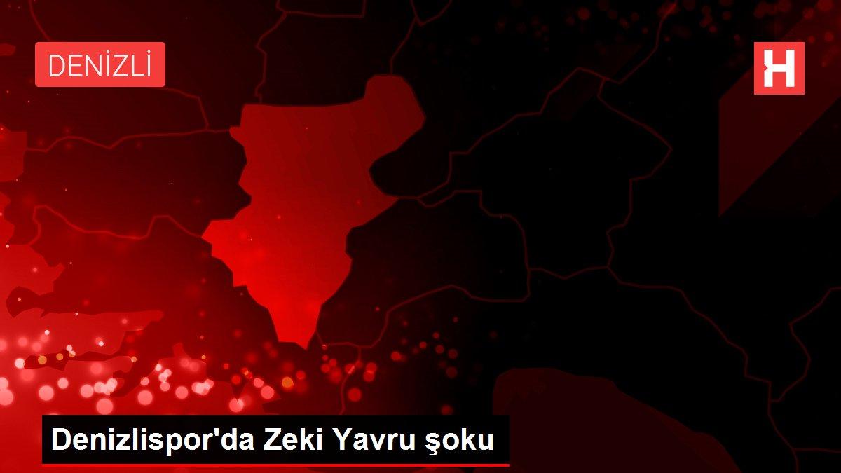 Denizlispor'da Zeki Yavru şoku