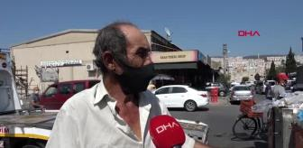 Çiğli: İZMİR Çiğli'de çöpler toplanmadı, esnaf fare kovaladı
