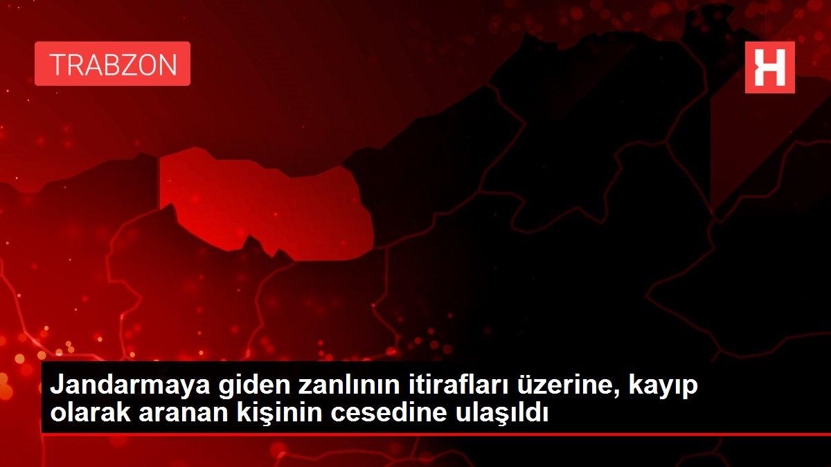 Son dakika haberleri! Jandarmaya giden zanlının itirafları üzerine, kayıp olarak aranan kişinin cesedine ulaşıldı