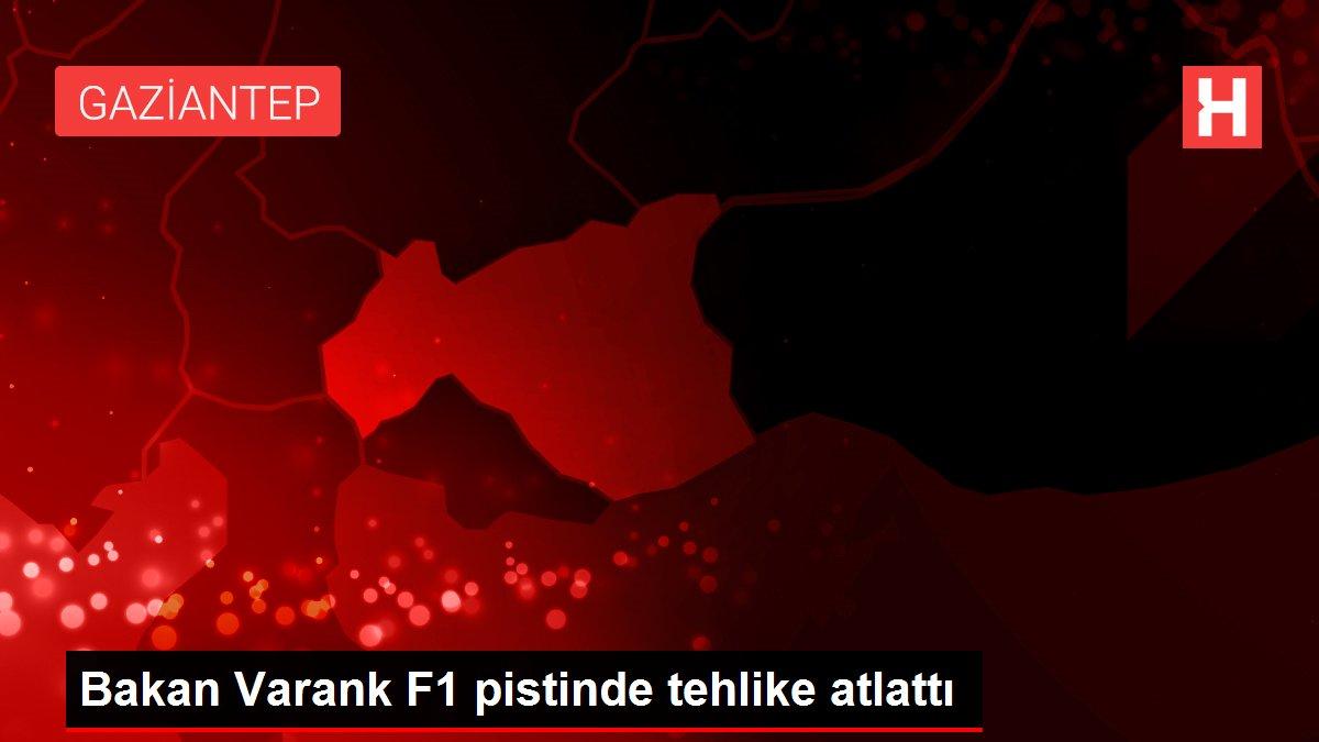Bakan Varank F1 pistinde tehlike atlattı