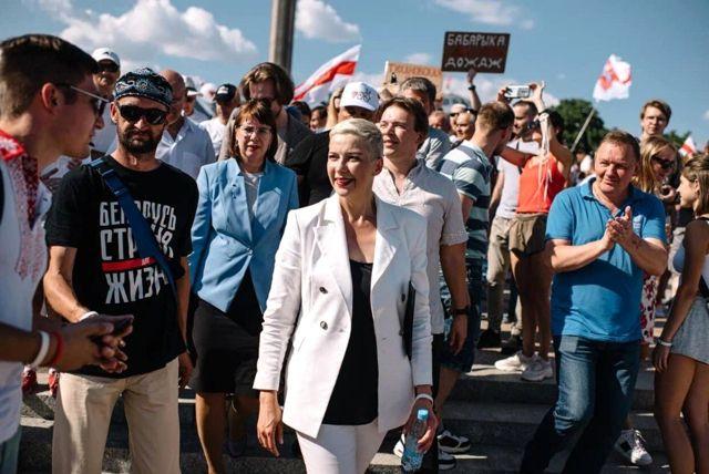 Belarus'ta muhalif hareketin liderlerinden Mariya Kolesnikova kaçırıldı iddiası