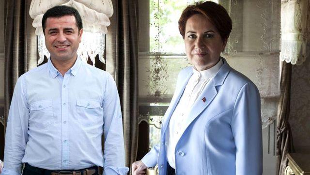 Demirtaş'ın 'Dışarıda olsam Başak ile Meral Hanımlara kahvaltıya giderdik' sözlerine Akşener'den yanıt