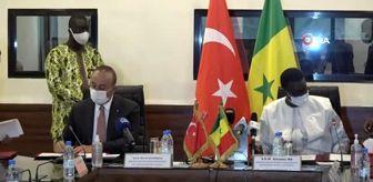Senegal: - Bakan Çavuşoğlu, Senegal Dışişleri Bakanı Amadou Ba ile görüştü