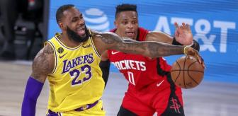 Houston Rockets: Los Angeles Lakers'tan final için önemli adım
