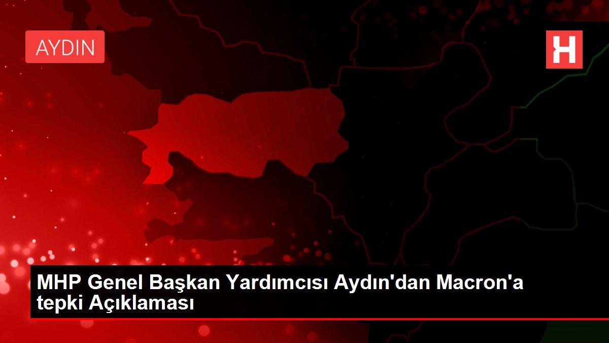 MHP Genel Başkan Yardımcısı Aydın'dan Macron'a tepki Açıklaması