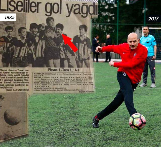 Süleyman Soylu, sosyal medyadan 35 yıl önceki fotoğrafını paylaştı