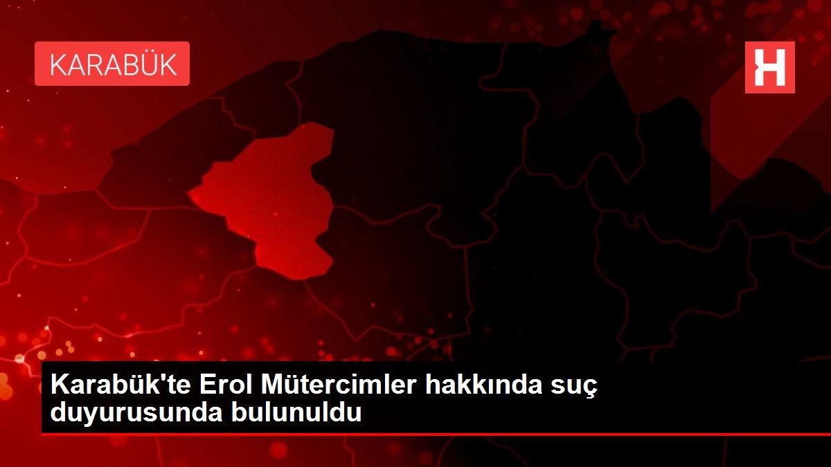 Karabük'te Erol Mütercimler hakkında suç duyurusunda bulunuldu