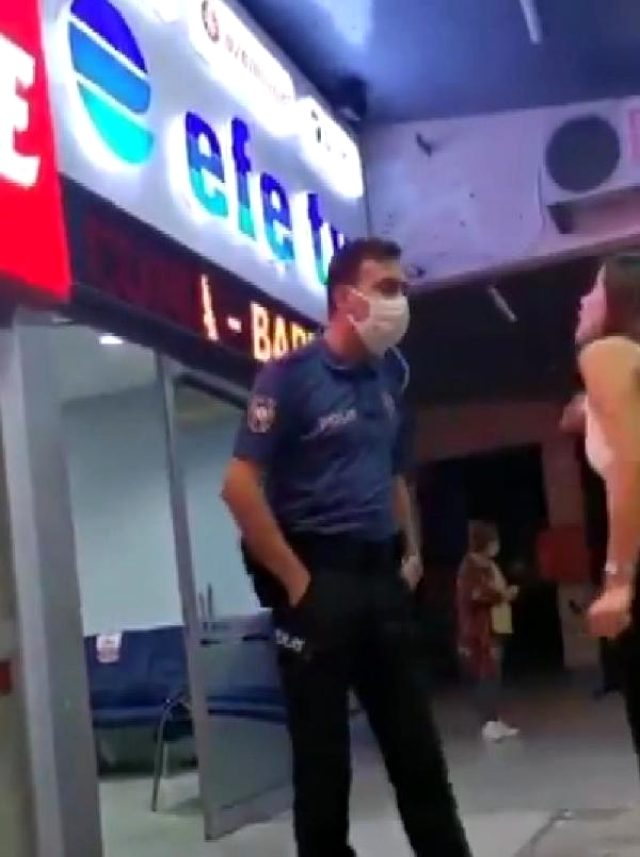 Alkollü kadın polislere önce küfür ve hakaret etti, sonra ısırarak yaraladı