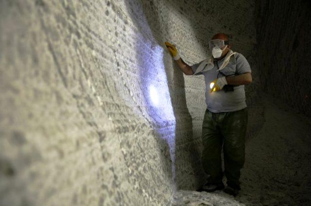 Nevşehir'deki 800 yıllık madenden yılda 150 bin ton tuz çıkarılıyor
