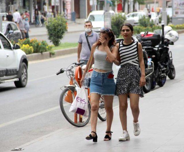 Vaka sayısının arttığı Diyarbakır'da, yasağa rağmen maske takılmıyor