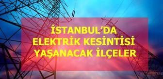 İsmet İnönü: 14 Eylül Pazartesi stanbul elektrik kesintisi! İstanbul'da elektrik kesintisi yaşanacak ilçeler İstanbul'da elektrik ne zaman gelecek?