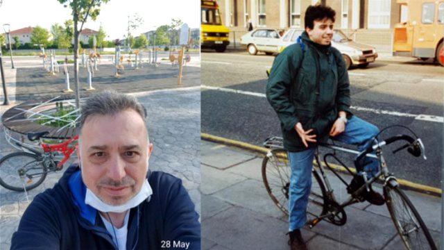 Anayasa Mahkemesi üyesi bisiklete binerken çekildiği fotoğrafıyla İçişleri Bakanı Soylu'ya gönderme yaptı